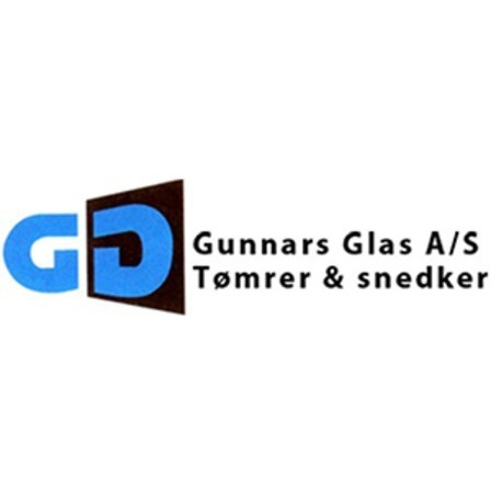 Gunnars Glas A/S Tømrer & Snedker logo