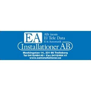 EA Installationer AB logo