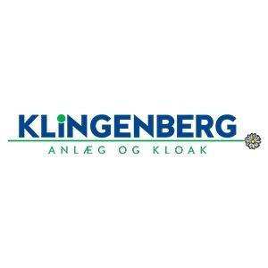 Klingenberg Anlæg & Kloak A/S logo