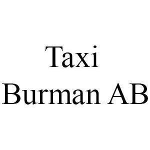 Taxi Burman AB logo
