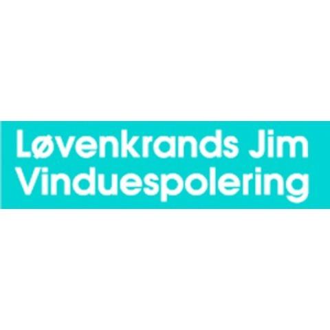 Løvenkrands Jim Vinduespolering logo