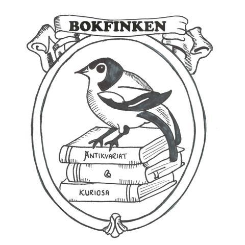 Bokfinken - Antikvariat & Kuriosa logo