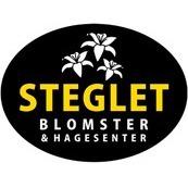 Steglet Blomster og Hagesenter logo