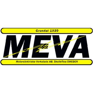 Motorelektriska Verkstads AB Meva logo