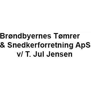 Brøndbyernes Tømrer & Snedkerforretning ApS v/ T. Jul Jensen logo