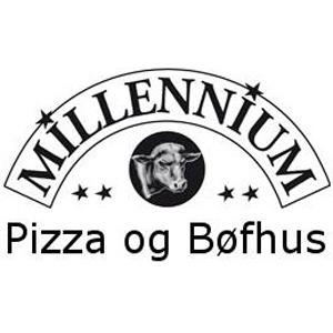 Millennium Pizza & Bøfhus logo
