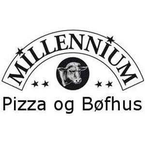 Millennium Pizza & Bøfhus logo