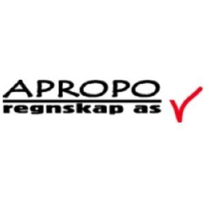 Apropo Regnskap AS logo