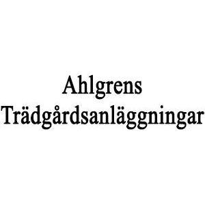 Ahlgrens Trädgårdsanläggningar logo