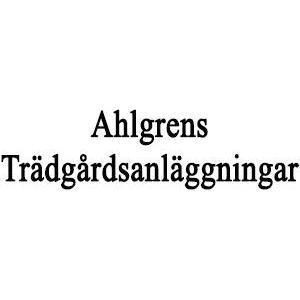 Ahlgrens Trädgårdsanläggningar logo