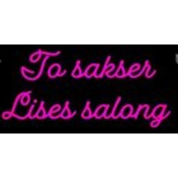 To Sakser Lises Salong Lise Olsen logo