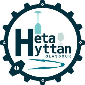 Heta Hyttan Glasbruk logo