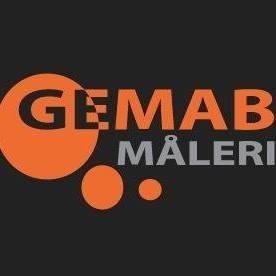 GEMAB MÅLERI AB logo