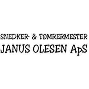 Snedker- & Tømrermester Janus Olesen Aps logo