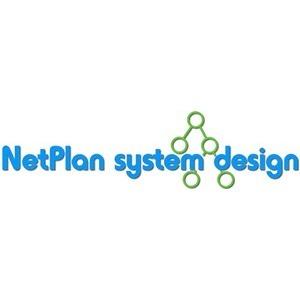 NetPlan system design.dk ApS logo
