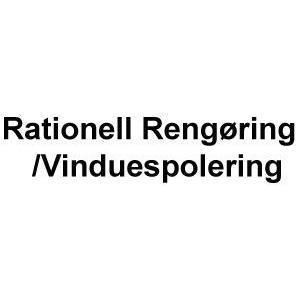 Rationell Rengøring/Vinduespolering logo