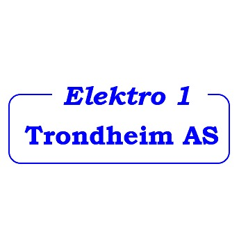 Elektro 1 Trondheim AS logo