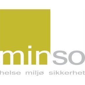 Minso helse miljø sikkerhet logo