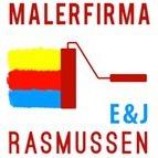 Malerfirmaet E & J Rasmussen logo