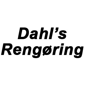 Dahl's rengøring og persiennevask logo