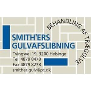 Smith'ers Gulvafslibning logo
