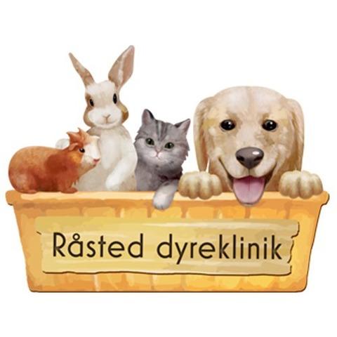 Råsted Dyreklinik Randers logo