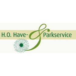 H.O. Park- Og Haveservice A/S logo