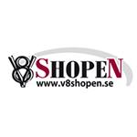 V 8 Shopen i Karlstad AB logo