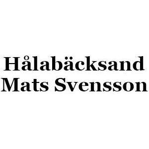Hålabäckssand Mats Svensson logo