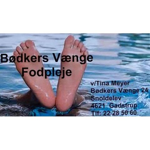 Bødkers Vænge Fodpleje v/ Tina Meyer logo