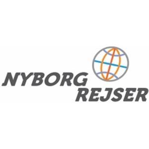 Nyborg Rejser A/S logo