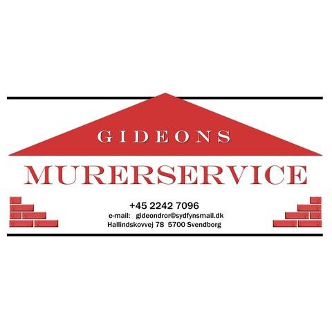 Gideons Murerservice logo