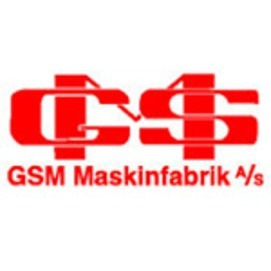 GSM Maskinfabrik A/S logo
