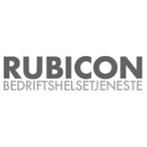 Rubicon Bedriftshelsetjeneste logo