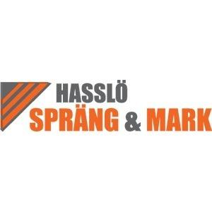 Hasslö Spräng & Mark AB logo