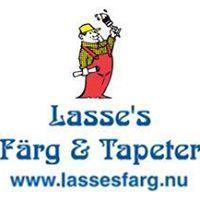 Lasses Färg o Tapeter, Askim, Billdal, Hovås o Sisjön logo