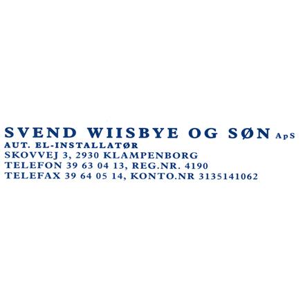 Svend Wiisbye & Søn ApS logo