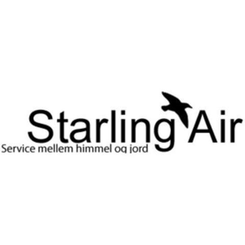 Starling Air Ærø Flyveplads logo