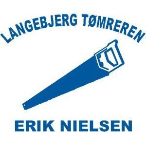 Langebjerg Tømreren /v Erik Nielsen logo