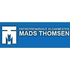 Entreprenør og Aut. Kloakmester Mads Thomsen A/S logo