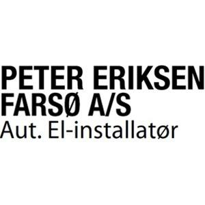 Aut. El-installatør Peter Eriksen Farsø A/S logo