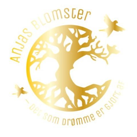 Anjas Blomster logo