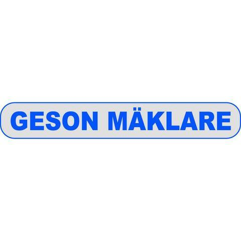 GESON MÄKLARE logo