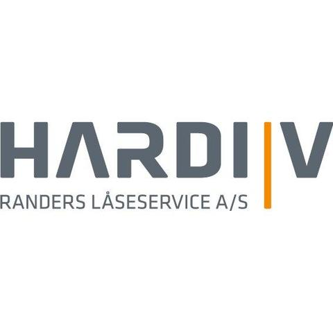 Hardi V - Randers Låseservice A/S logo