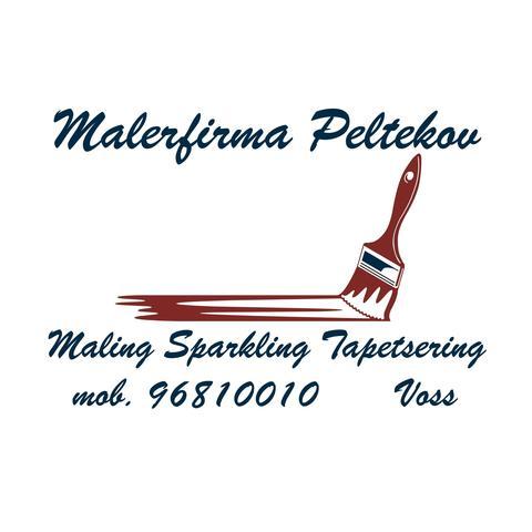 Malerfirma Peltekov logo