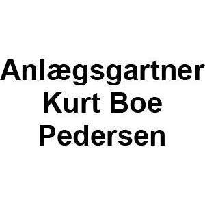 Anlægsgartner Kurt Boe Pedersen logo