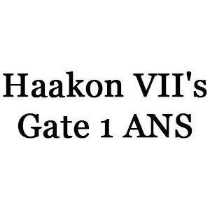Haakon VII's Gate 1 ANS logo