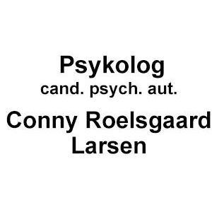 Psykolog, cand. psych. aut.  Conny Roelsgaard Larsen logo