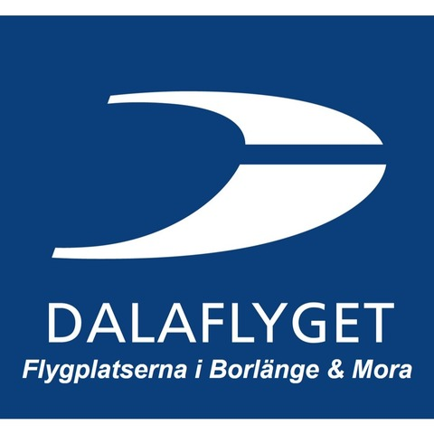 Dalaflyget Borlänge Falun flygplats logo