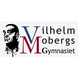 Gymnasieskola Vilhelm Moberg logo
